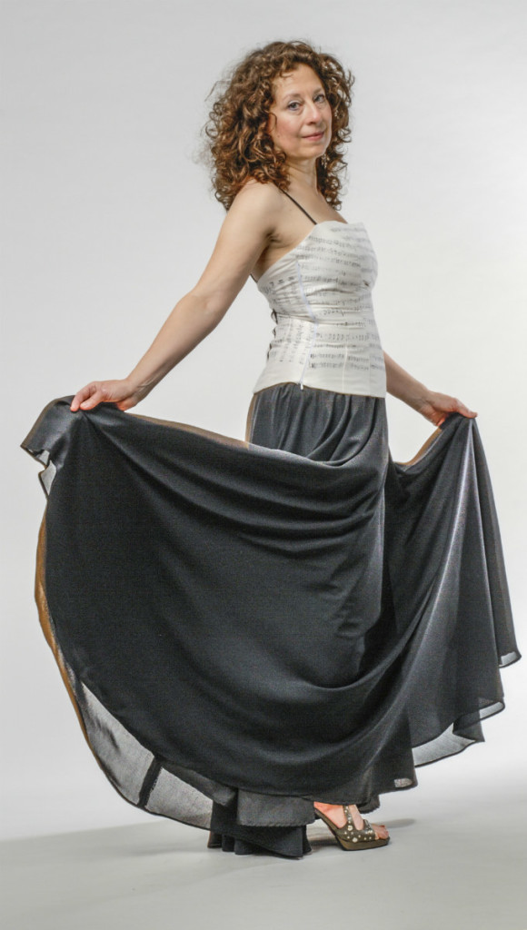 A2 Silk Fitted Bodice v B2RTW skirt web