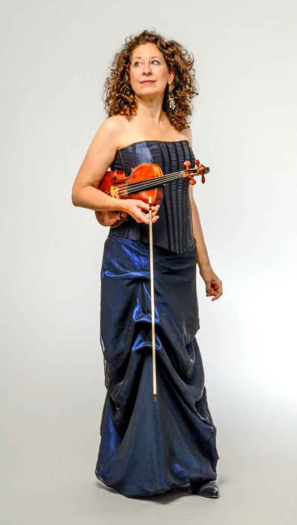 Karen Marie Marmer, co-director, REBEL Ensemble for Baroque Music - Photo by Howard Goodman